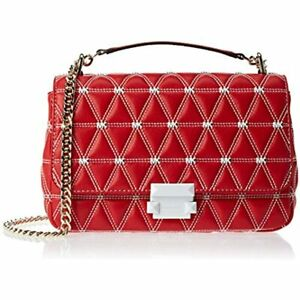 Michael-Kors-Sloan-Large-Quilted-Leather-Shoulder-Chain-Bag-30S9LSLL7Y-Red
