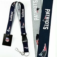 NFL NEW ENGLAND PATRIOTS TWO TONE LANYARD (Quick Release)