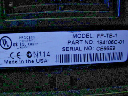 National Instruments FP-RLY-420 8 Channel SPST Relay with FP-TB-1 Terminal Base