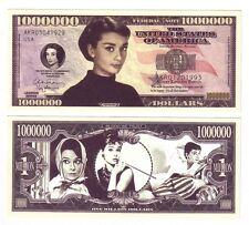 ONE MILLION DOLLARS AUDREY HEPBURN