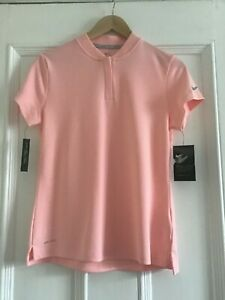 Damen-Nike-Golf-Dry-Polo-Shirt-Dri-Fit-Groesse-Medium-884845-646