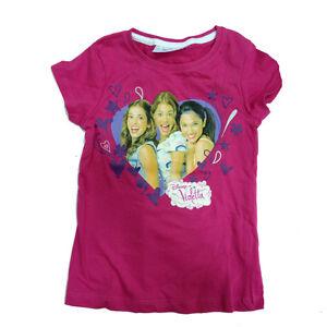 VIOLETTA-t-shirt-coton-taille-6-7-Ans-de-fille