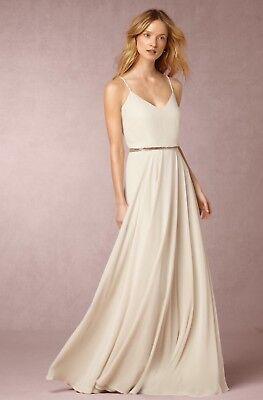 NEW Anthropologie BHLDN Nadya Maxi Dress Wedding Gown Jenny Yoo Bridal  Formal  eBay