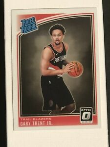 2018-19 Donruss Optic Rated Rookie GARY TRENT JR. RC WELL CENTERED, PSA READY!