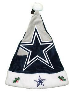 Image is loading Dallas-Cowboys-2018-NFL-Basic-Logo-Plush-Christmas- 56b8405fa