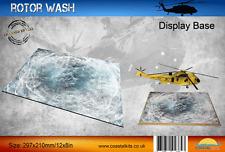 Coastal Kits 1:72 1:48 1:35 Rotor Wash 297x210mm Display Base #CKS0175