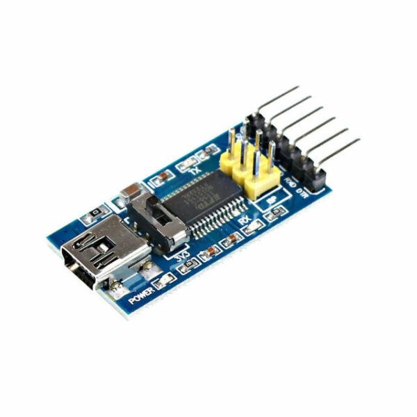 Interface Adapter Module 5V Details about  /FTDI FT232RL USB to TTL Serial Converter 3.3V