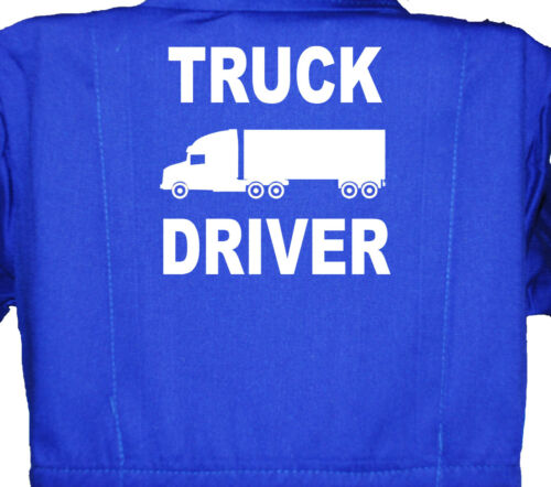 Blue 1-8 Yrs Red Truck Driver Overalls Children/'s Kids Boilersuit Coverall