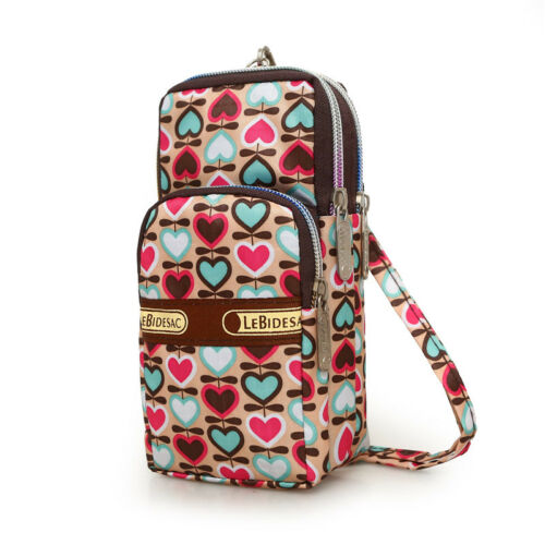 Women Cell Phone Pouch Mini Shoulder Bags Purse Crossbody Messenger Mobile Bag