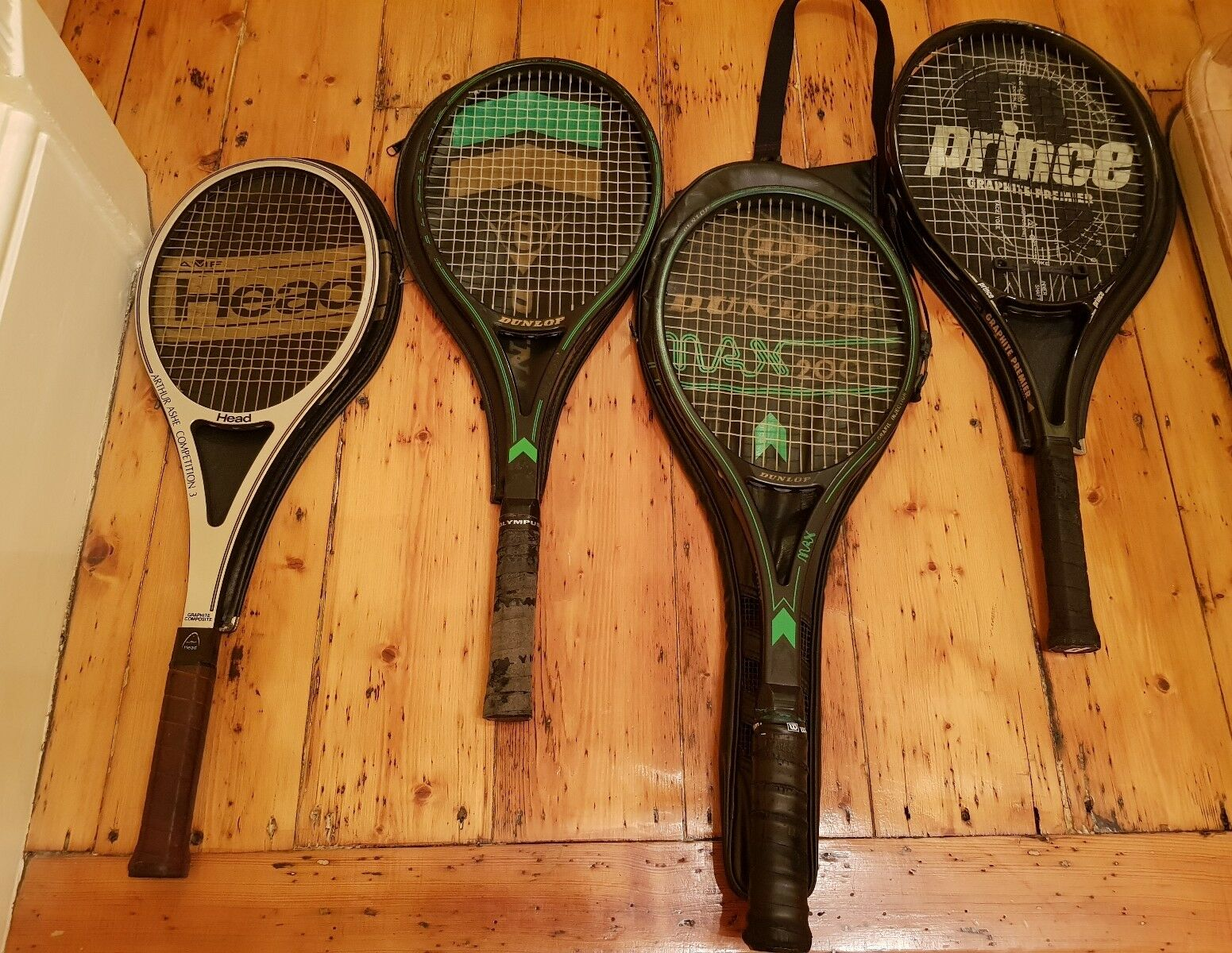 4 x Quality Tennis Racquets Job Lot