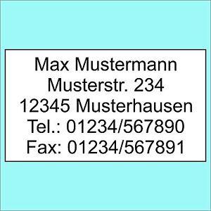 1300-Adressetiketten-Adressaufkleber-Etiketten-Aufkleber-m-Wunschtext-bedruckt