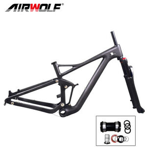 2019-carbon-suspension-mtb-frame-29er-mountain-bike-enduro-frameset-fork-15-19