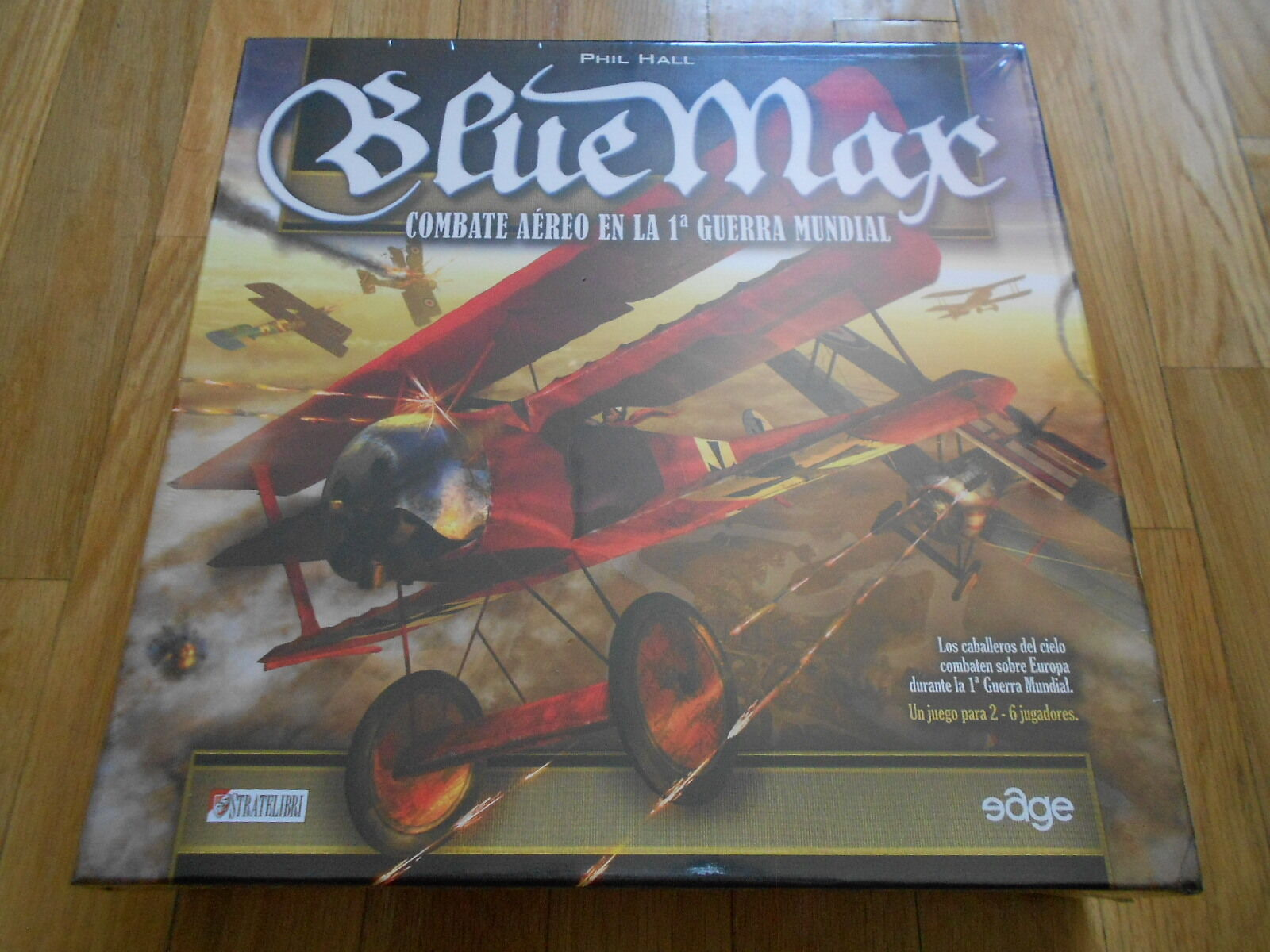 Juego wargame blueeE MAX - EDGE - Caballeros del Aire - WWI - estrategia - OFERTA