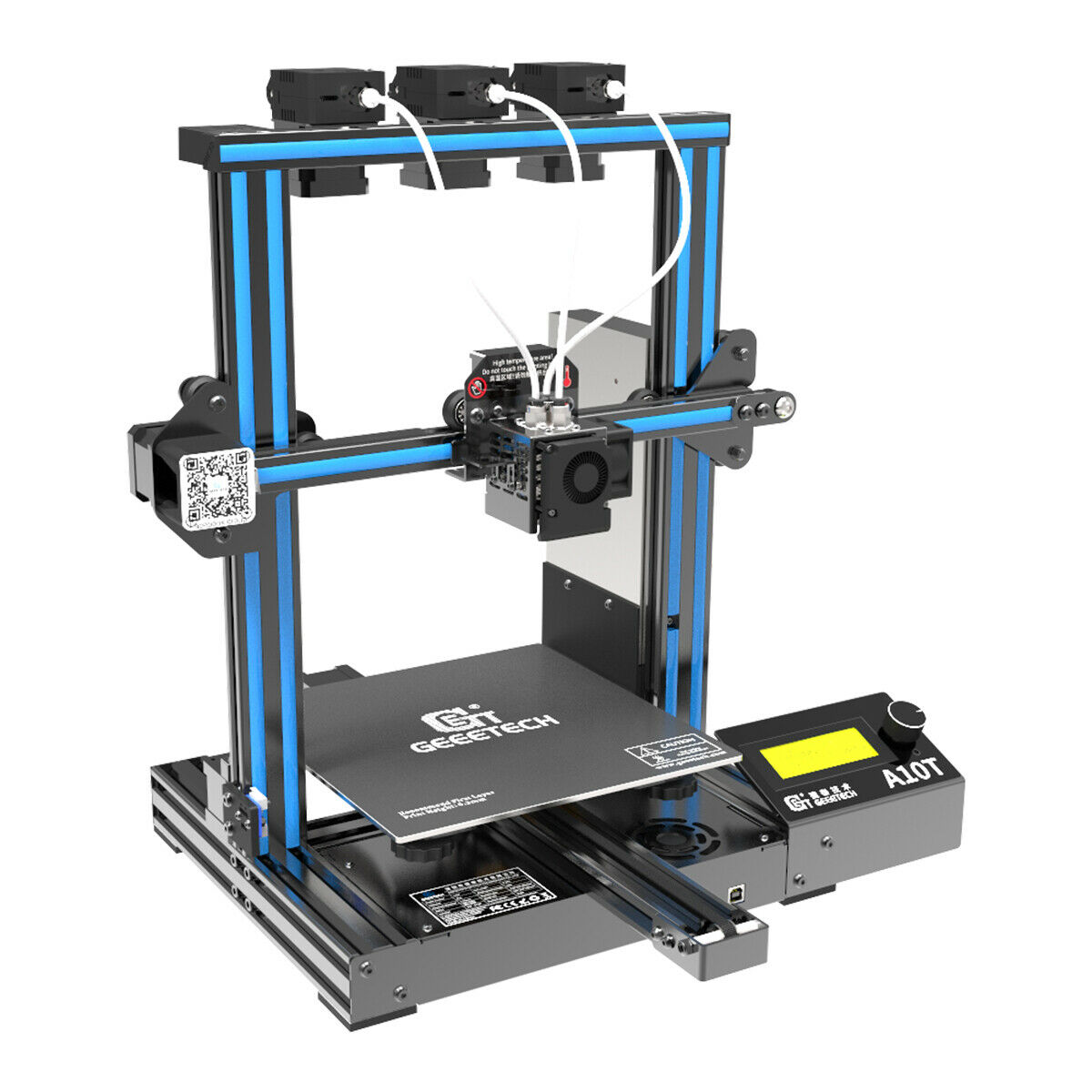 Used/Broken 3D Printer From US- Geeetech A10T 3 in 1 Mix-color