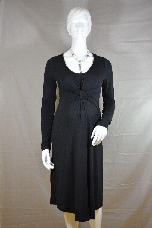 ESPRIT Maternity Umstandskleid Business-Kleid black XS, S, M, Neu; K1 388