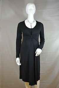 ESPRIT-Maternity-Umstandskleid-Business-Kleid-schwarz-XS-S-M-Neu-K1-388