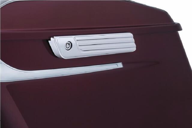 Kuryakyn 6986 Tri-Line Chrome Saddlebag Hinge Cover