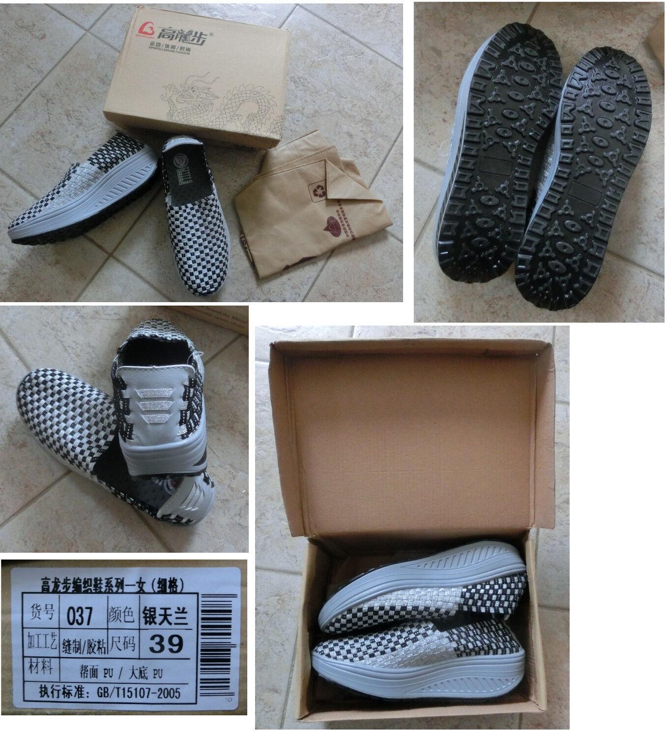 ROLLING SOFT Atmungsaktive Sneakers 39 ROLLING SOFT schuhe Federleicht schwarz