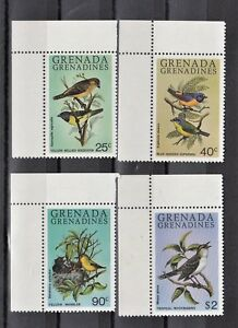TIMBRE-STAMP-4-GRENADA-GRENADINES-Y-amp-T-342-45-OISEAU-BIRD-NEUF-MNH-MINT-A71