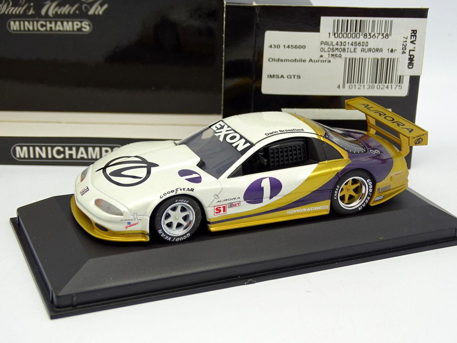 Minichamps 1 43 - Oldsmobile Aurora GTS N° 1 Daytona 1996