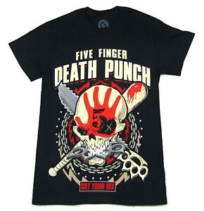 Image Is Loading Five Finger Punch Zombie Kill Black T