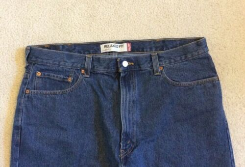 Relax Mens Levis Taille 550 40x30 Jeans Coupe qw6t0