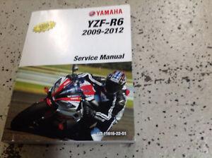 2009 2010 2011 2012 yamaha yzf r6 service shop repair manual factory rh ebay com 2015 Yamaha R6 2013 yamaha r6 service manual