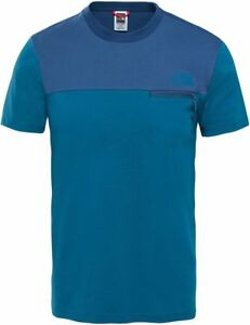 f10511a29 Details about THE NORTH FACE TNF Z-Pocket T92S5R1VT Cotton T-Shirt Short  Sleeve Tee Mens New