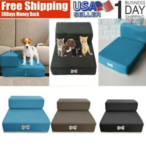 Breathable-Mesh-Foldable-Pet-Stairs-Detachable-Pet-Bed-Stairs-Dog-Ramp-2-Steps