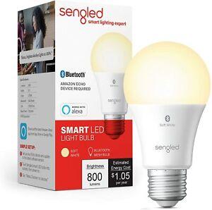 5 PACK Sengled Smart Bluetooth MESH LED A19 Bulb Alexa - Soft White, NEW SEALED