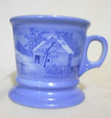 Currier & Ives The old homestead in winter Shaving Mug