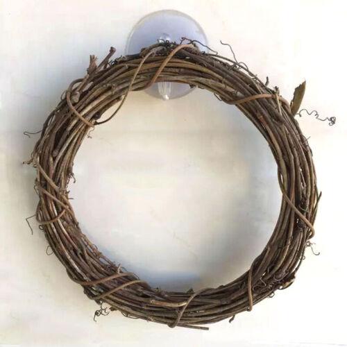 10-35cm DIY Xmas Artificial Vine Ring Wreath Rattan Wicker Garland Wedding Decor