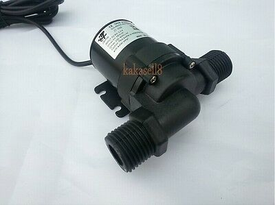 Solar DC 12V 24V Hot Water Circulation Pump Brushless Motor Water Pump 1000L/H