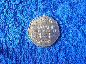 2013-Benjamin-Britten-Blow-Bugle-Blow-50p-coin-v-g-Circ