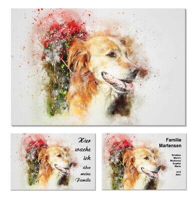 Türschilder Kunst-künstlerisch-plexiglas-schild-retriever-hund-namensschild-türschild-3-top Den Menschen In Ihrem TäGlichen Leben Mehr Komfort Bringen