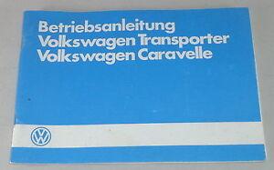 Instrucciones-Servicio-VW-Bus-Transporter-Caravelle-T3-Stand-02-1985