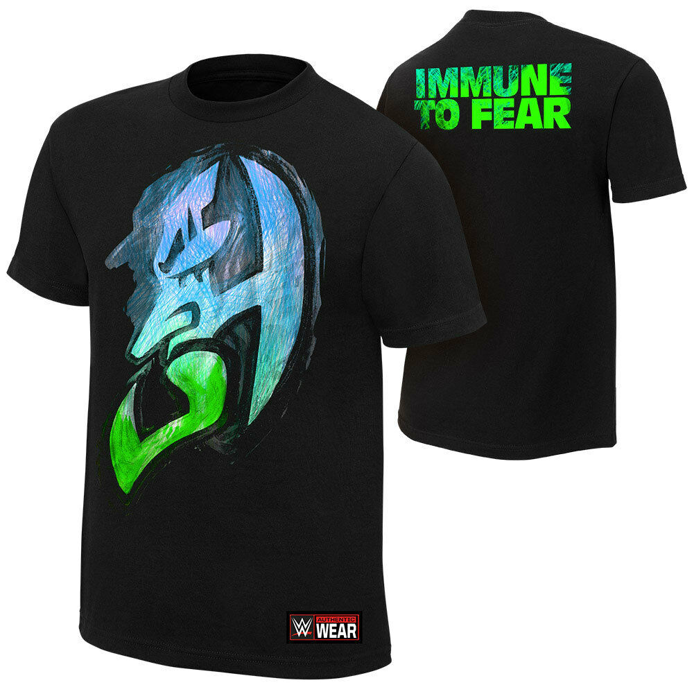 Official WWE - Jeff Hardy  Immune to Fear  Alternate Authentic T-Shirt