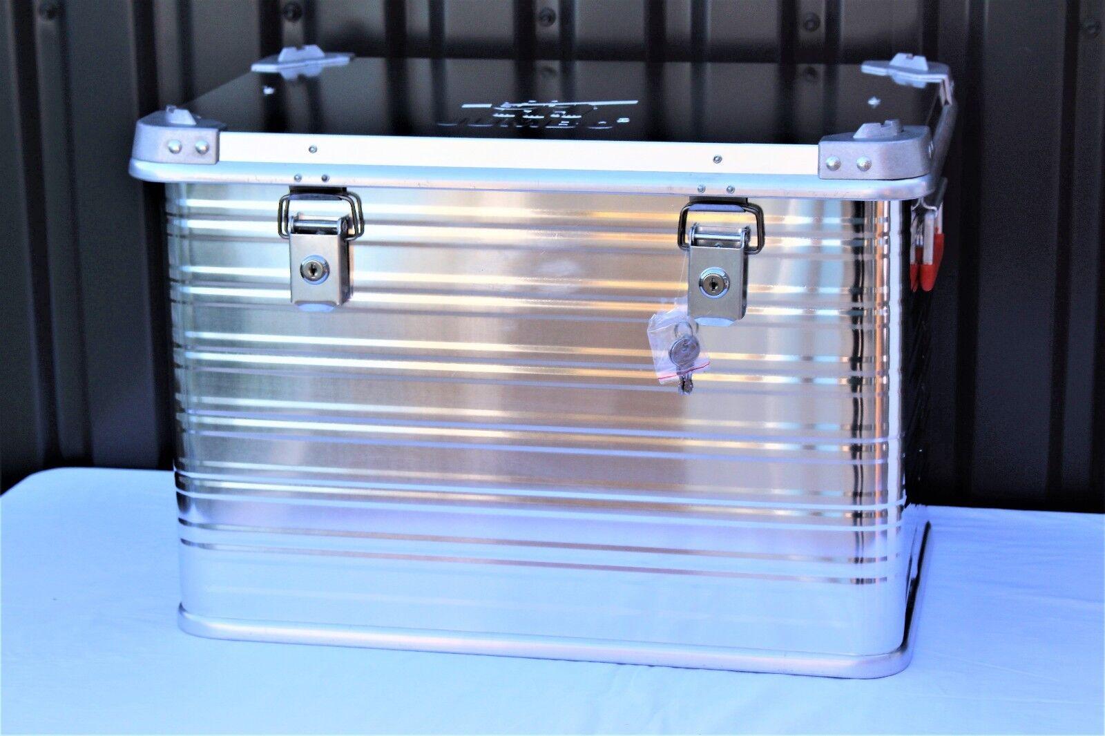 Jumbo Alukiste Transportbox Transportkiste Aluminium Box Aufbewahrungskiste 76L