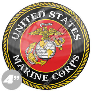 Protected By a USMC Marine Corps MARINES Truck SUV  Window Decal Sticker Bumper