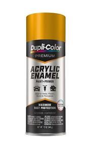 Details About Duplicolor Pae109 Premium Acrylic Enamel Spray Paint School Bus Yellow 12 Oz