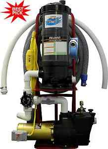 Top Gun Pro Portable Pool Vacuum Cleaner W Gunite Head Ebay