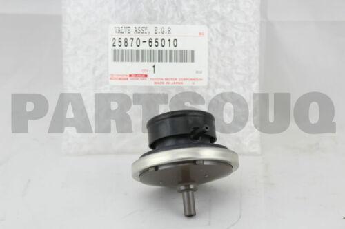 2587065010 Genuine Toyota VALVE ASSY EGR VACUUM MODULATOR 25870-65010