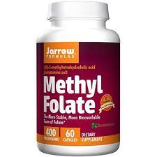Jarrow Formulas Methyl Folate 400 mcg, 60 Capsules