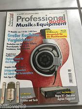PROFESSIONAL Audio  Zeitschrift 06/2009