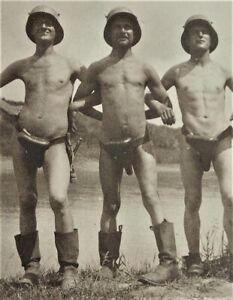 1-WK-Soldaten-Foto-Rumaenien-1917-Nude-Soldat-Photo-Flieger-Wache-Rastoca-AB
