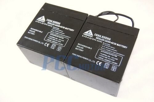 2 PACK 12 volt 4.5 amp hour 12V 4.5ah Sealed Lead Acid Battery Razor E100 I BA12