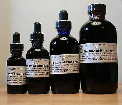 Blue Lotus Tincture / Extract - 1oz / 2oz / 4oz / 8oz
