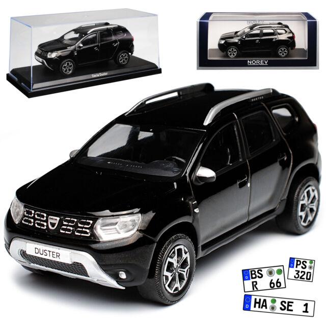 Dacia Duster II negra SUV 2 generación a partir de 2018 1//43 norev modelo coche con o..