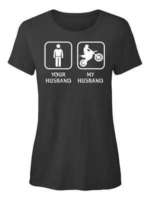 Motor Sports Your Husband My - Standard Women's T-shirt Quell Sommer Durst