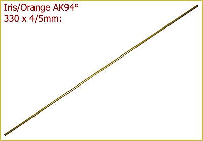 4//5x330mm Reduktions-Glas in Stangenform Iris//Orange 3,64€//m